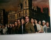 PASSPORT COVER Downton Abbey Maggie Smith Dan Stevens Michelle Dockery