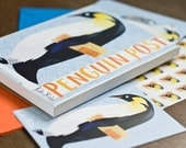 Children's Penguin Post Stationery Set