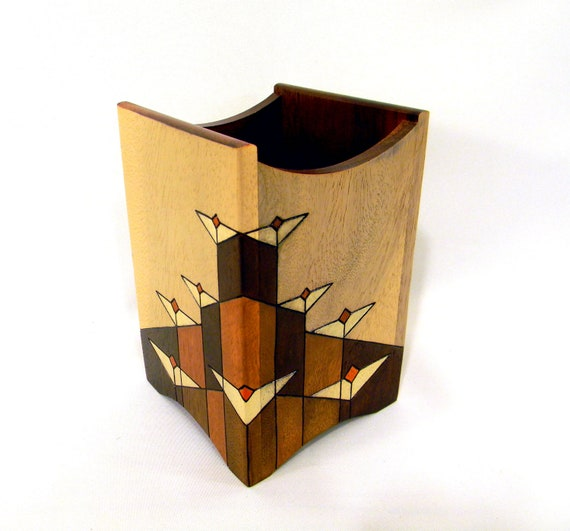 Utensil Holder - Prairie Flowers