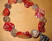 Red Shell Princess Bracelet