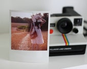 Vintage summer... 5x3.75 inches Polaroid Style print