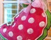 Burlap watermelon READY TO SHIP