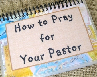 How to Pray for Your Pastor, Laminated Prayer Cards, Spiral-Bound