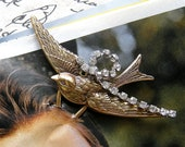 Large Sparrow Hair Pin