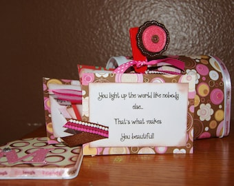 Affirmation Mailbox Love Notes and Encouragement Great Gift
