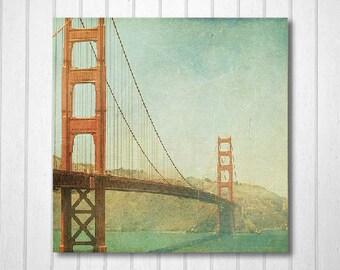 BUY 2 GET 1 FREE San Francisco Photograph, California, Bridge Photo, Wall Decor, Travel Photography, Nursery Decor - Golden Gate Bridge