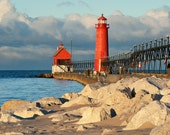 Grand Haven Morning - Canvas Wrap - Michigan Photography