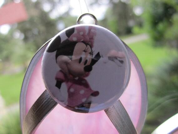 Minnie Mouse Flipflop Suncatcher