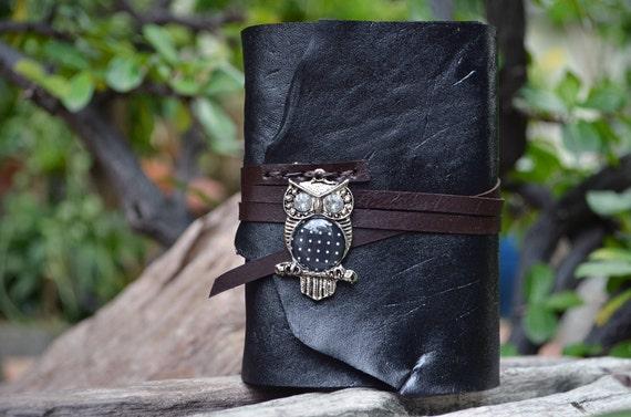S.A.L.E. MiniBook A7 Owl & Super Black