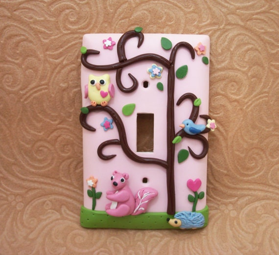 Abigail - Two Owl Ceiling Fan pulls and one light switch- Reserved for Jason