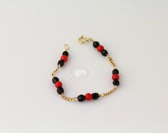 Glass Bead Child's Bracelet. Listing 111171727