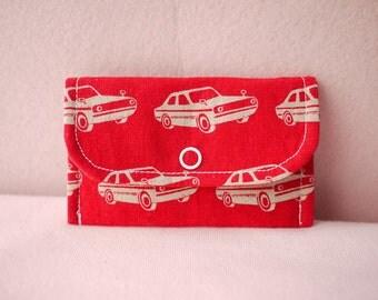 Chic Car Mini Snap Wallet