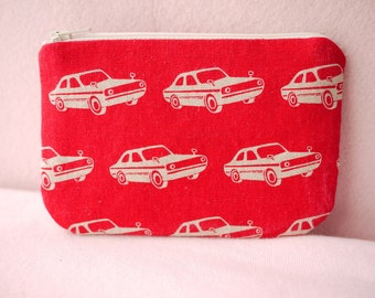 Chic Car Mini Zipper Pouch