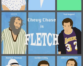 FLETCH Poster Artwork