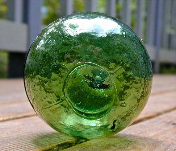 Glass Fishing Float Collectible, Inspiration 3 PC Molded, Home Decor, Nautical, Ocean, Sea, Beach Cottage Decor, Maritime, Fishing Decor