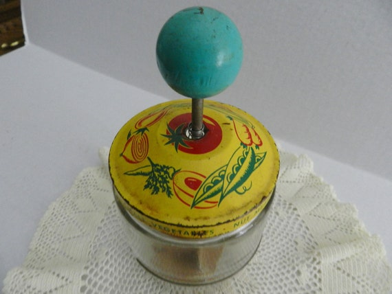 1950s Colorful Food Chopper