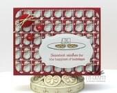 Handmade Card - Cookies for Santa