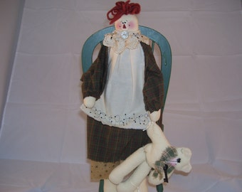 Raggedy Anne Doll Raggs and Patches