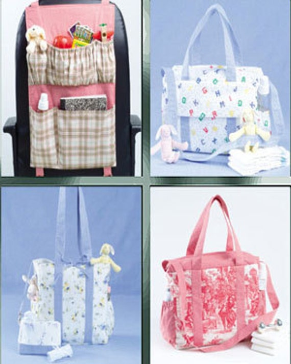 diaper bag sewing pattern baby bags car organizer changing. Black Bedroom Furniture Sets. Home Design Ideas