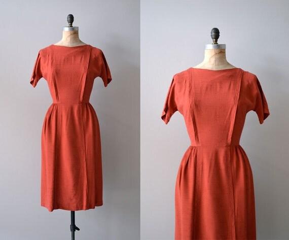1950s dress / 50s dress / wiggle dress / Coquette dress