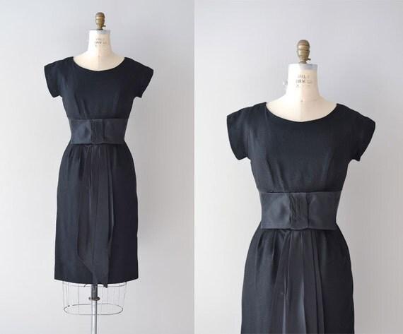 1950s dress / vintage 50s dress / Arco di Notte