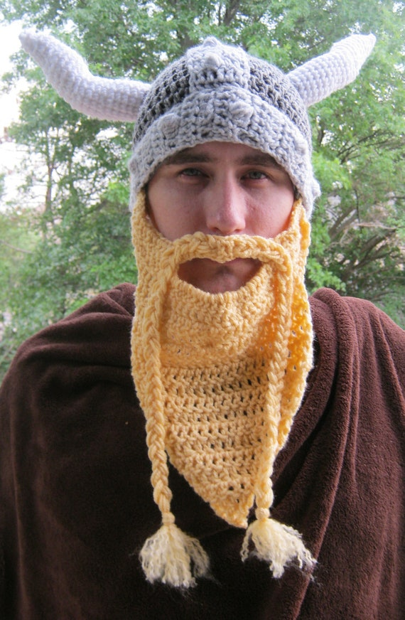 PDF Crochet Pattern Volga Viking Hat by Bowrene on Etsy