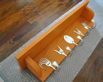 Awesome Orange Forking Shelf