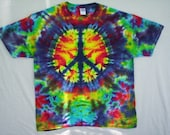 Tie Dye Peace Out Size Large
