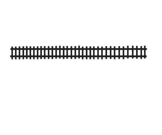 Items similar to Train Tracks Decal - Set of Train Tracks ...
