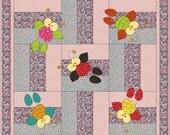 PDF Baby Quilt Pattern DoodleBug Applique