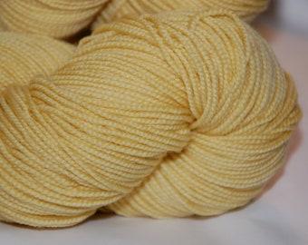 Studio June Yarn, Sydney Sock, Superwash Merino, Color - Banana