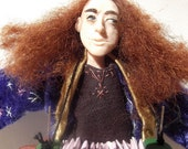 The Wandering Wizard- OOAK Original Artist's Doll