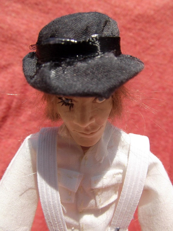 Alex Delarge- A Clockwork Orange OOAK Original Poseable Artist's Doll