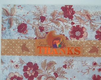 Thanksgiving Greeting Card - 5 X 7