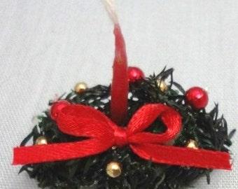Holiday Sale 40% Off - Mini Oval Evergreen Centerpiece