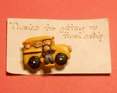 Bus Driver Magnet -  School Bus Driver Gift From Child, End of the Year Gift, Bus Driver Appreciation