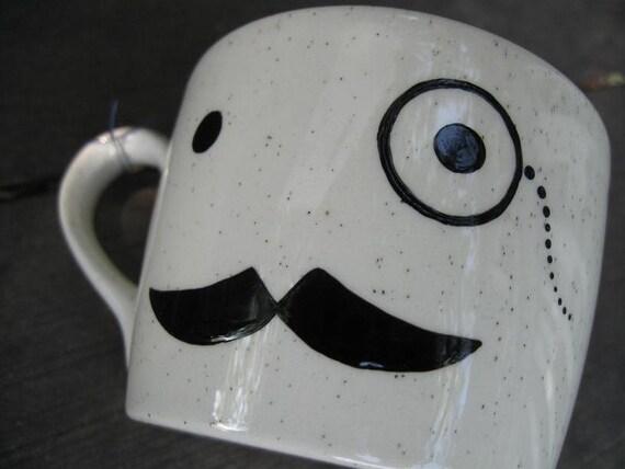 Major Teacup - Mr. Monocle, Hero Mustache