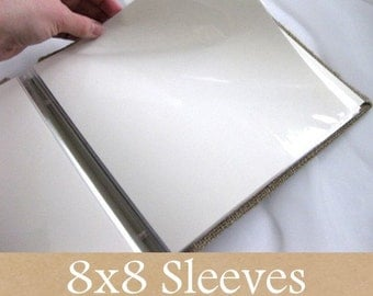 5 sleeves (10 pages) for 8x8 scrap book