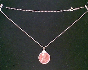 THE PENNY PENDANT, Necklace and Earrings