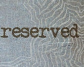 RESERVED - 3 custom made books for Twila