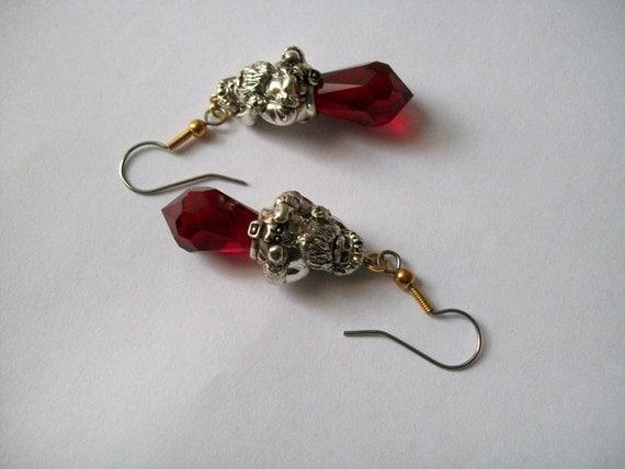 Christmas Santa Earrings