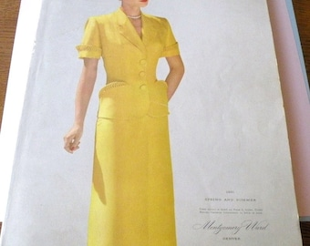 1951 Montgomery Ward Spring and Summer Catalog 963 pages