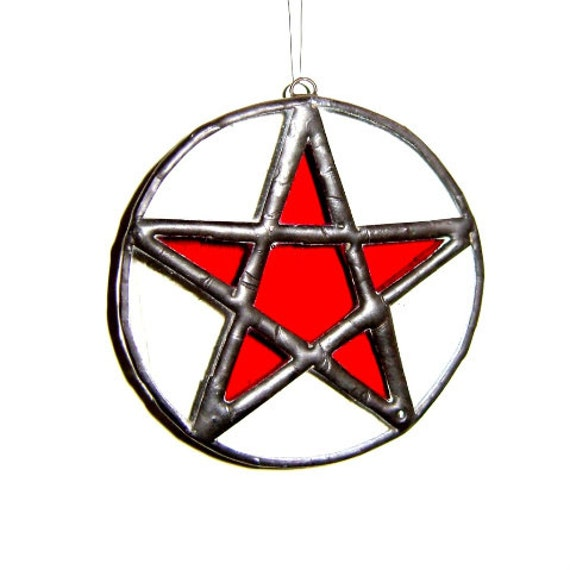 Decoration Pentagram Pentacle Wicca Samhain Pagan Magic Goddess Housewarming Wedding Gift
