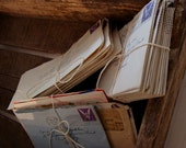 Antique 32 Love Letters 1943 during the War, Wonderful Young Lovers from New Jersey 70yrs ago