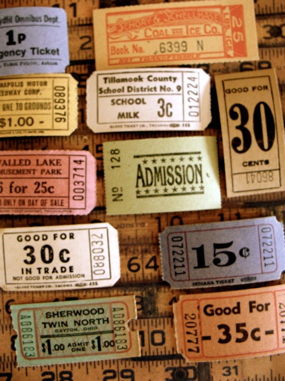 Antique Ticket Lover Dream Collection N02