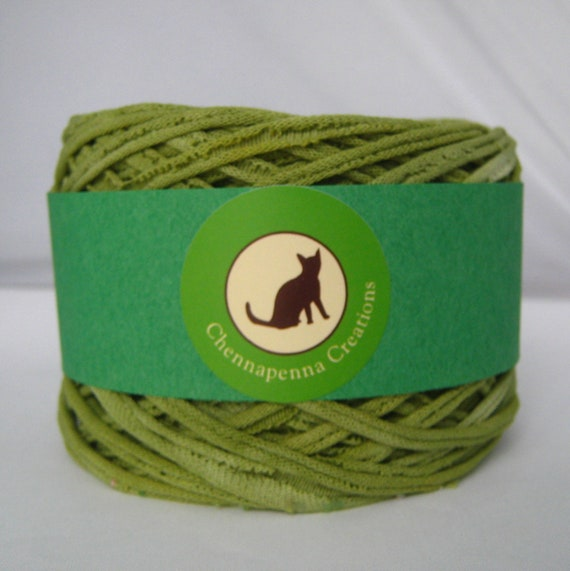 T shirt yarn hand dyed sour apple yellow green yarn for T shirt printing st charles mo