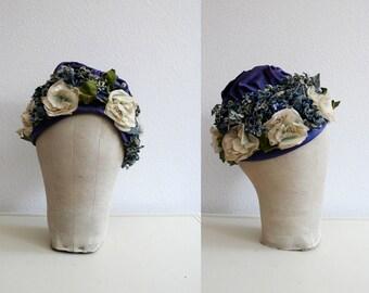 1930s hat / vintage cloche / Bittersweet hat