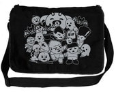 Little Monsters Messenger Bag
