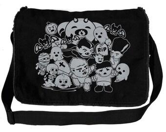 Little Monsters Messenger Bag
