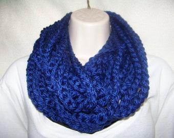 Crochet Infinity Rope Scarf